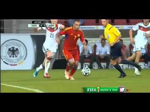 Marco Reus Horrible Injury Germany vs Armenia 0 0 Friendly Match 06 06 2014