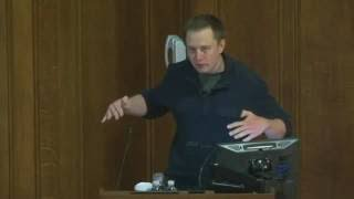 Elon Musk lecture on technical and cost cutting aspects in Spacex.