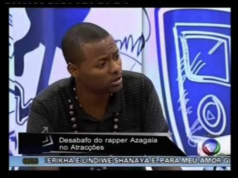 Azagaia Entrevista Part2 video