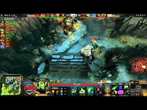 Invasion vs 5eva Game 2  joinDOTA MLG Pro League Season 2  Durkadota Scantzor