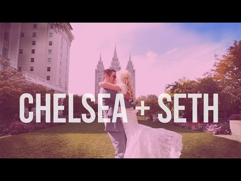 High School Sweethearts Wedding Video at Salt Lake City Temple