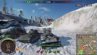 KV-2 Marks of Excellence Grinding-World of Tanks Xbox One [Online Match #3]