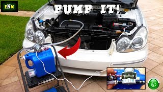 Homemade Motor Oil & Transmission Fluid Suction Pump