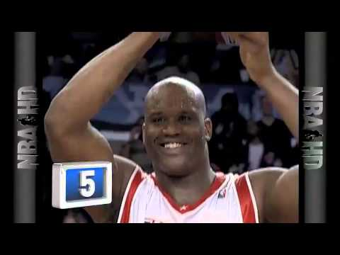 Shaquille O'Neal Career Top 10 Plays