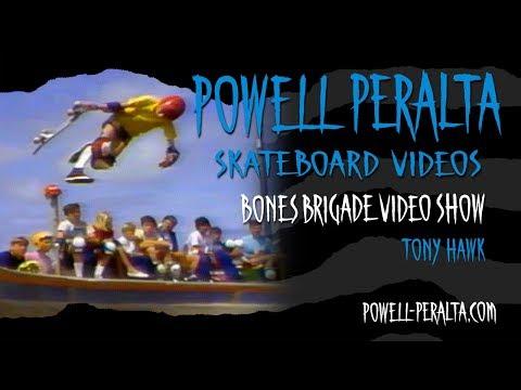 BONES BRIGADE VIDEO SHOW CH. 6 TONY HAWK & STEVE STEADHAM