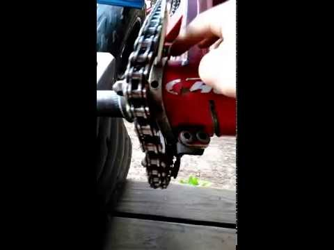 How To Tighten Chain On Yfz 450