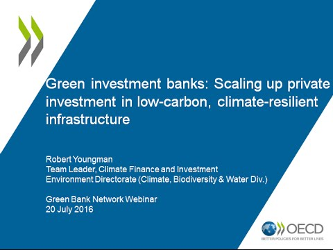 OECD Report: Scaling up Private Investment in LCR Infrastructure through Green Banks
