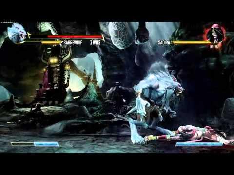 Killer Instinct (Xbox One) Arcade as Sabrewulf