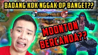 BADANG HERO BARU TP GAK GITU OP?? MOONTON BERCANDA??