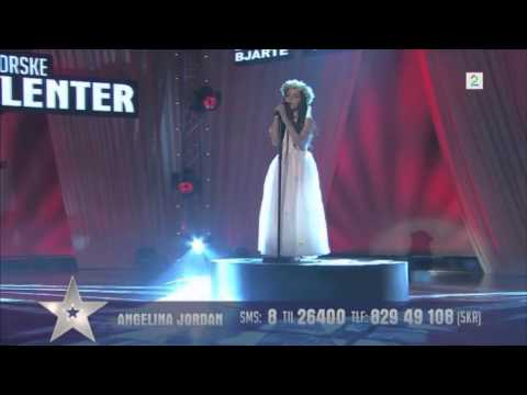 Amazing Angelina Jordan Astar (8 Year Old) Sings