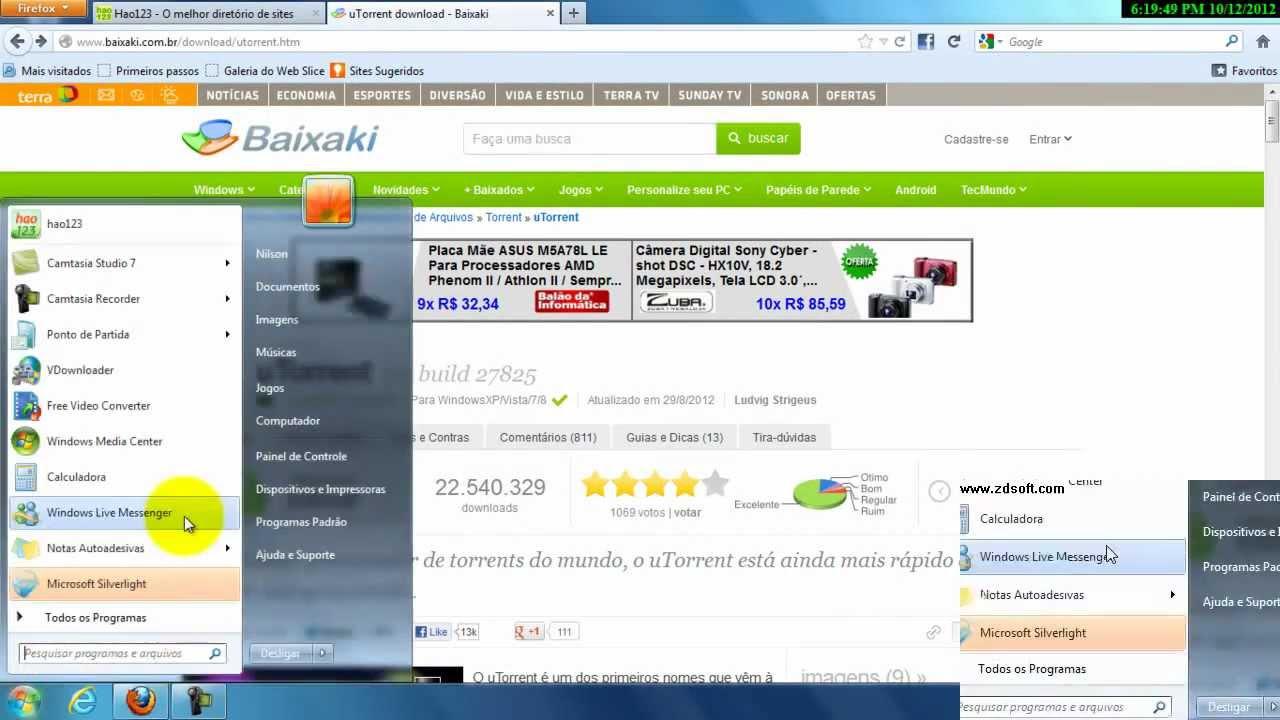 torret - Baixaki Search