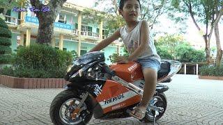 Xe máy thể thao mini, sports motorcycles, Kênh Em Bé ♥