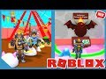 SPENDING ALL MY ROBUX TO BECOME OVERPOWERED! (Roblox Blob Simulator with my Little Nephew)