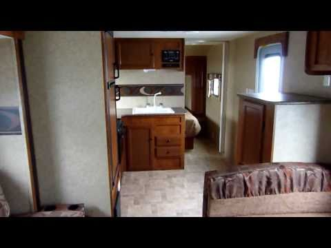 "2012 Layton ""Joey"" Model 279 Travel Trailer presented by Terry Frazer's RV Center"