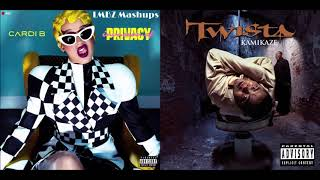 I Like Overnight Celebrities - Cardi B, Bad Bunny & J Balvin X Twista (Mashup)