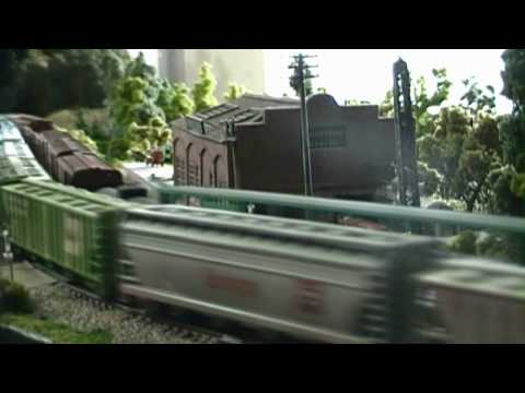 Nscale Model Train Layout For Sale Video