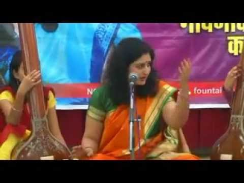 Dr. Kalyani Bondre Sings Prabhu Aji Gamala video