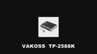 VAKOSS TP2588K  power bank - test PL