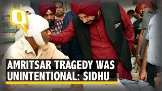 Amritsar Train Accident an Unintended Tragedy: Navjot Singh Sidhu | The Quint
