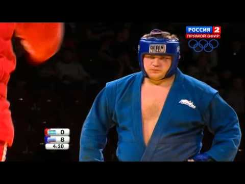 2013 Combat Sambo Worlds Final : Sidelnikov vs.Aushev
