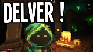 WE FOUND A JAWA MERCHANT on LEVEL 3!! - Delver Gameplay - Ep. 2