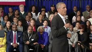 The President Holds a Town Hall in Baton Rouge