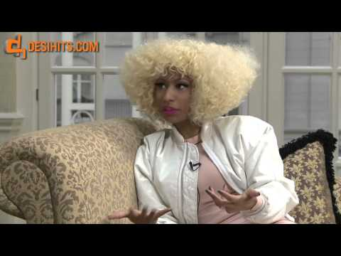 Five Rounds With Nicki Minaj - Funny Interview with Nicki's Indian accent