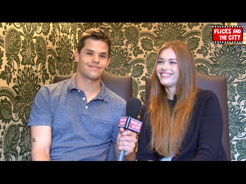 Teen Wolf Aiden & Lydia Interview - Holland Roden & Max Carver