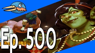 Today In Hearthstone Ep. 500 seems weird typing that