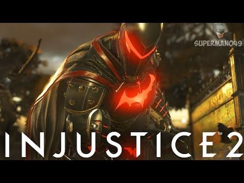 """THE BEST EPIC BATMAN GEAR OF ALL TIME! - Injustice 2: """"Batman"""" Gameplay"""