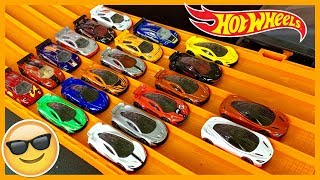 Hot Wheels Mclaren Collection and Race (Every Color Ever Made)