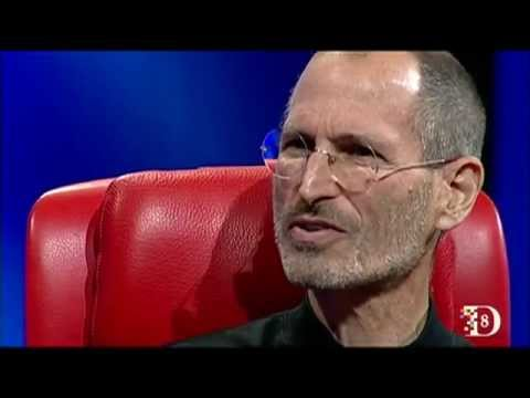 Steve Jobs in 2010 at D8