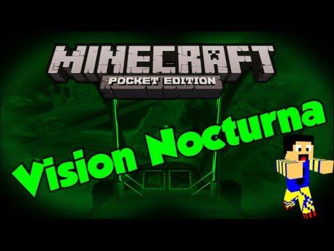Minecraft PE: Vision Nocturna! | Mod