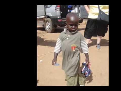 Faces of Gulu, Uganda Photo Montage