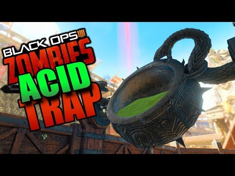 "Black Ops 4 ""IX"" ALL ACID TRAP PARTS GUIDE (Call of Duty BO4 Zombies)"