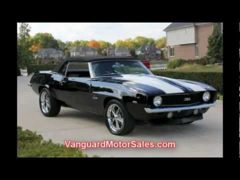 Corvette Stingray on 1969 Chevy Camaro Convertible Restomod Classic Muscle Car For Sale In
