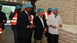 VIDEO: Haiti - President Jovenel Moise visits Caribbean Food Manufacturing