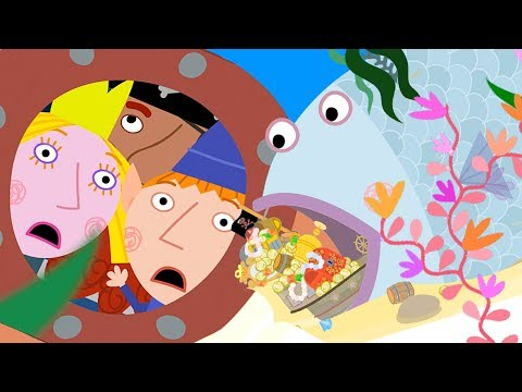 Ben and Holly's Little Kingdom | The Elf Submarine | 1Hour | HD Cartoons for Kids