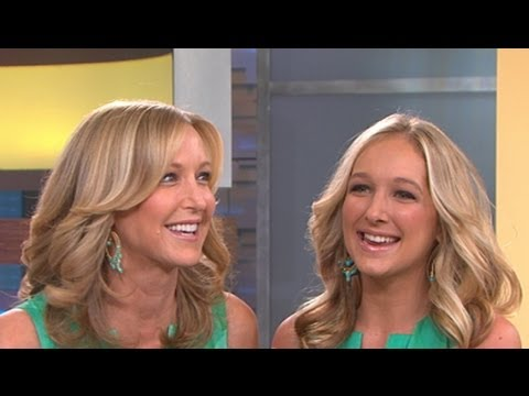Celebrity Doppelgangers: Lara Spencer Sees Her Double On 'good Morning America' video