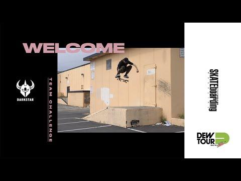 Dew Tour Long Beach 2017 Team Challenge Welcome Darkstar Skateboards