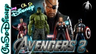 Avengers - OhSo AVENGERS 2 TRAILER & INTERVIEW - OhSoDisneyMini Ep.3