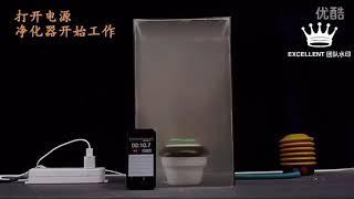 Grass Mini Air Purifier Car Purifier Freshener 车载负离子空气净化神器