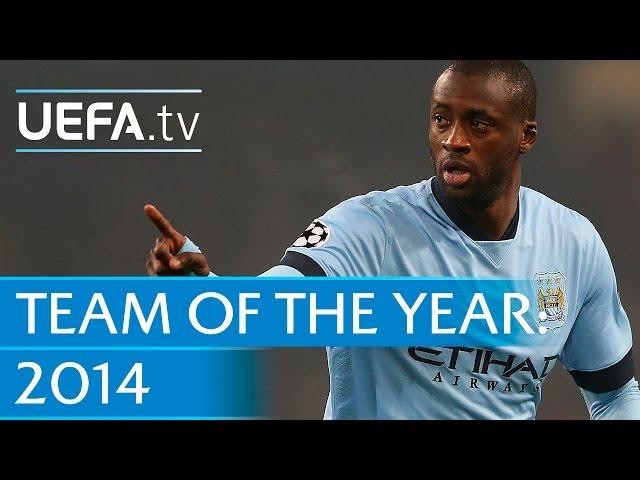Yaya Toure: 2014 Team of the Year nominee
