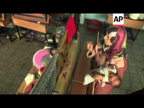 Injured Palestinians in hospital after Israel and Hamas resume cross-border attacks