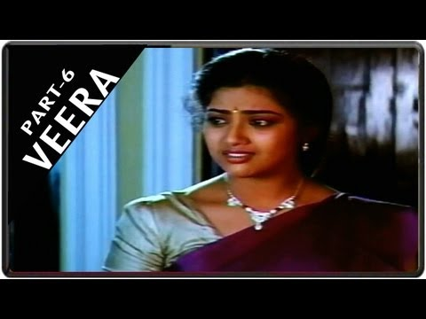 Veera Movie Part 6 || Starring Rajnikanth, Meena, Roja video