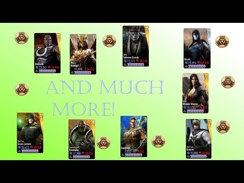 (NO JAILBREAK) ULTIMATE INJUSTICE IOS HACK (UPDATED) / How To Use PlayerSave.bins