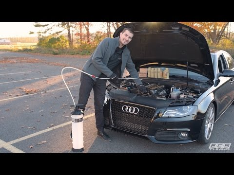 Easiest Oil Change Ever! | Schwaben Fluid Extractor DIY