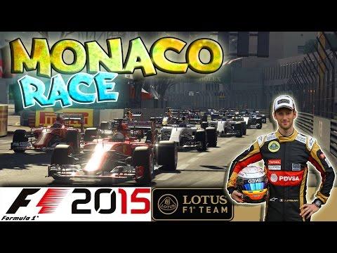 F1 2015 - Championship - GP de Monaco - La Course - NO ASSISTS