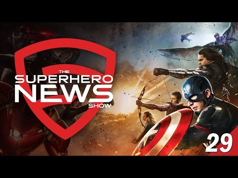 Superhero News #29: Captain America: Civil War Teams Revealed!