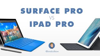 Surface Pro vs the iPad Pro - Which is better for drawing and illustration?